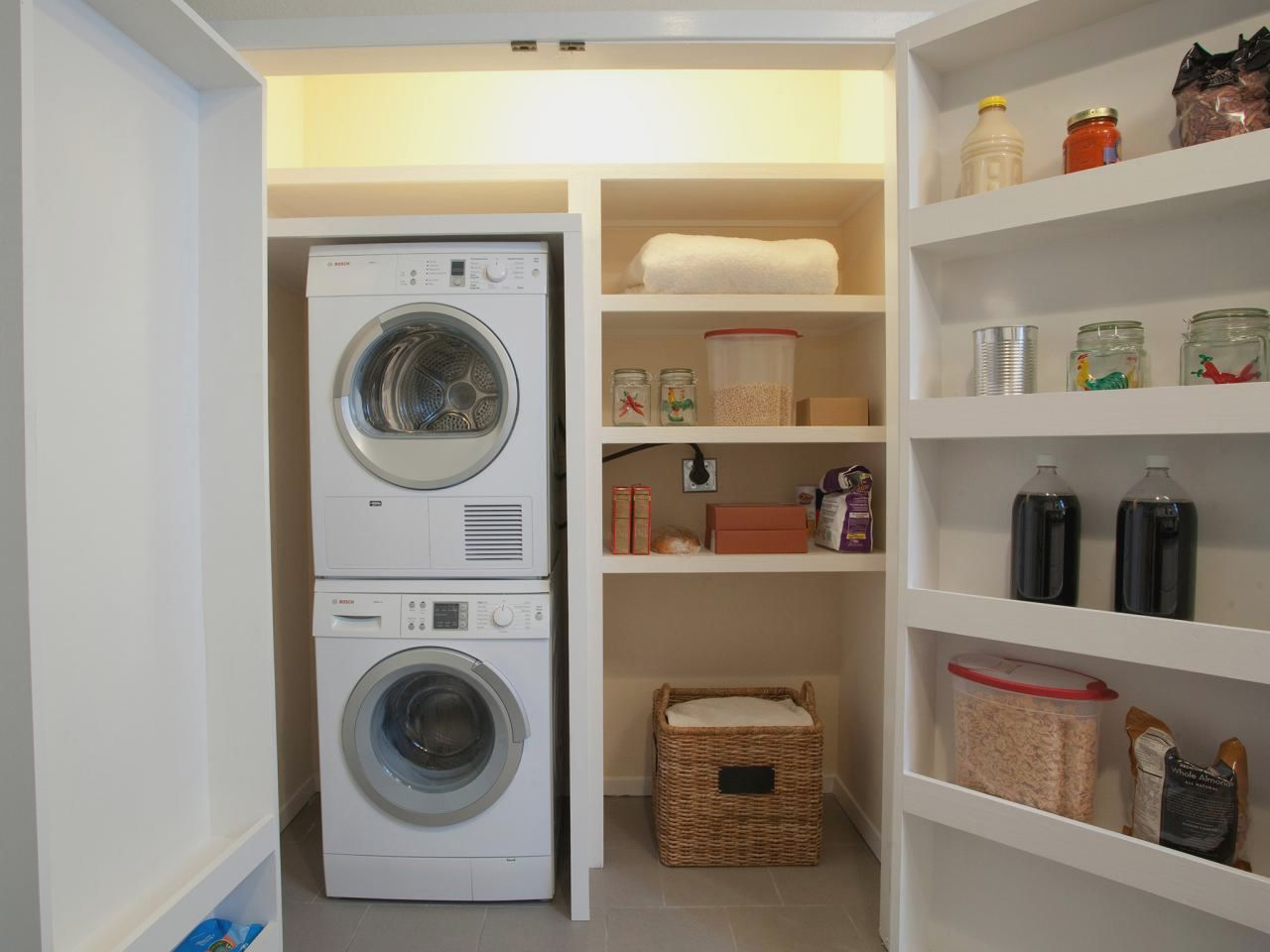 pin by virginia taylor on laundry room storage stackable pinterest rh pinterest com