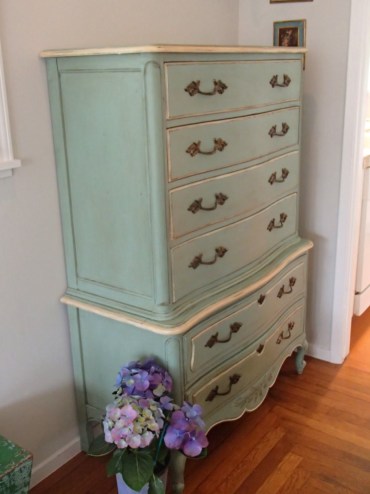 d d s cottage and design chest on chest french provincial dresser rh pinterest com