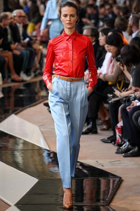 Trussardi Spring 2014 Ready-to-Wear Collection Slideshow on Style.com