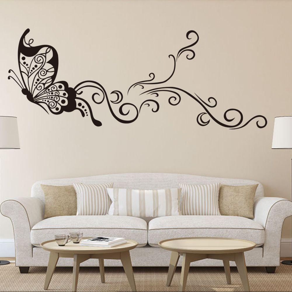 Resultado de imagen para decorar paredes con pintura for Figuras para decorar paredes