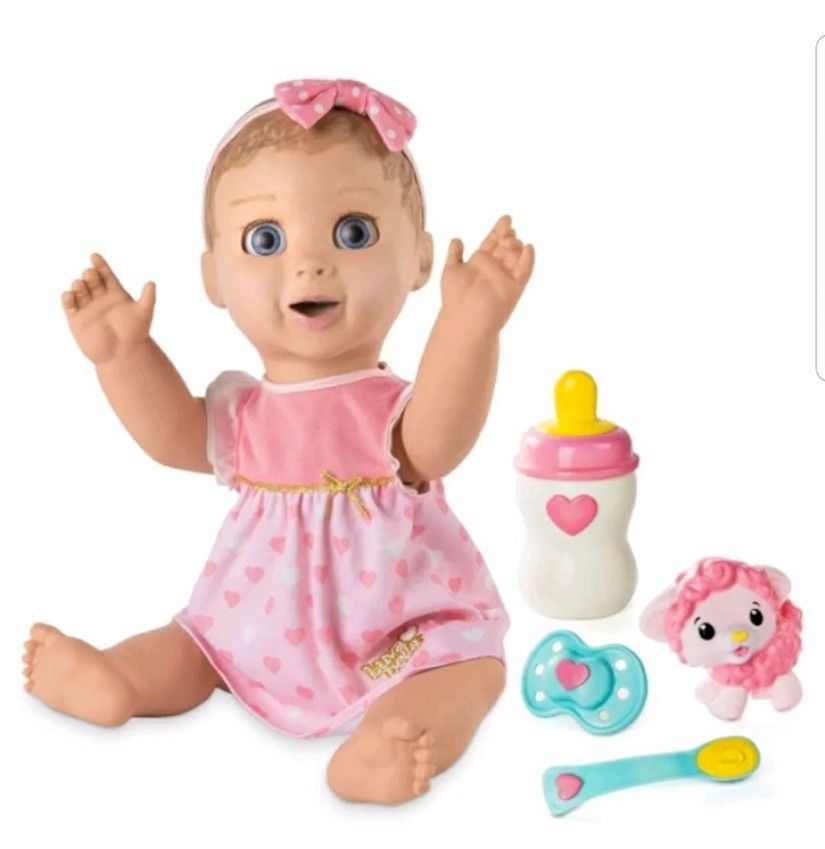 Luvabella Luva Bella Interactive Baby Doll Blonde Girl Toy Fast Shipping Usa Luvabella Interactive Baby Dolls Interactive Baby Baby Girl Dolls