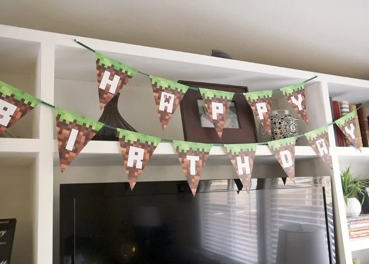 Photo of Minecraft Birthday Party Ideas