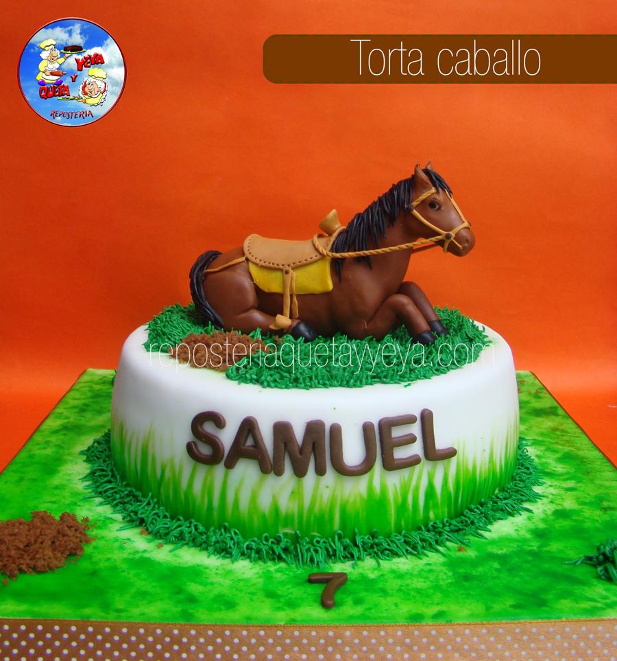 Torta Caballo - Horse Cake | tortas decoradas infantiles | Pinterest ...