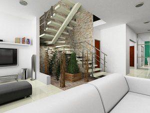 Proyectos dise ados cosas para comprar under stairs for Jardin interior bajo escalera