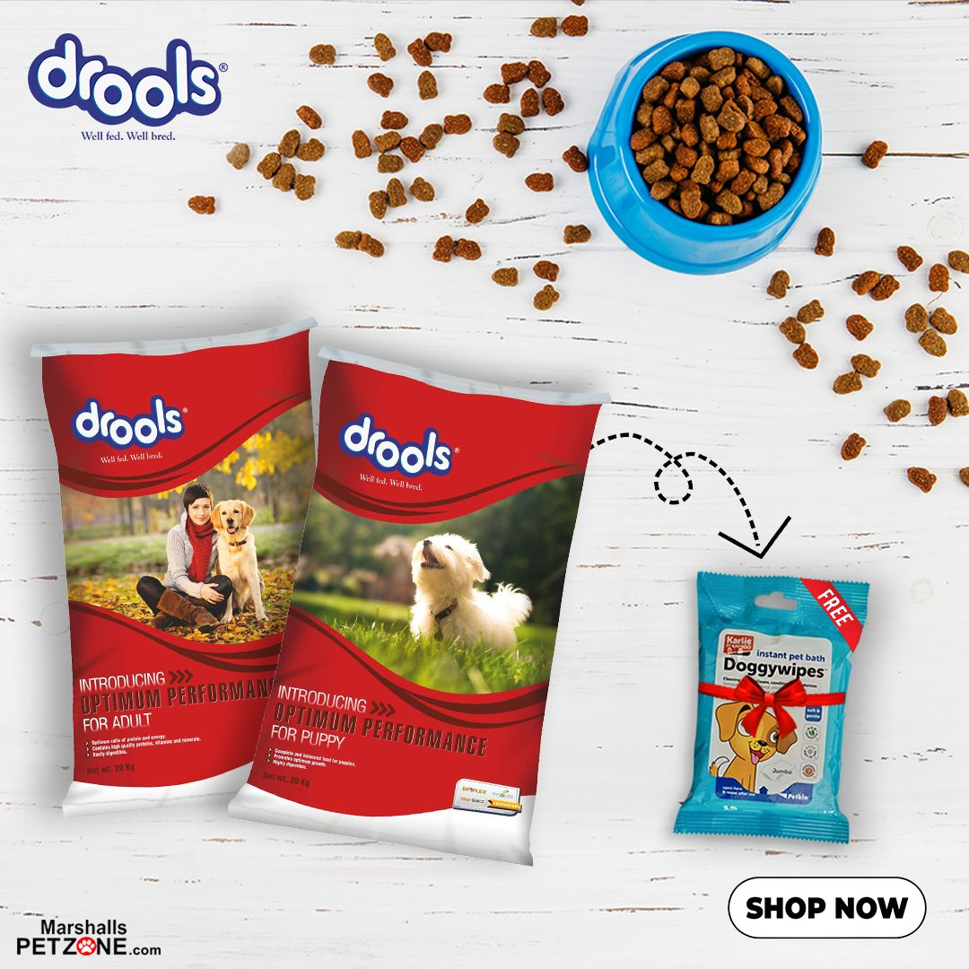 Drools Optimum Puppy Dog Food 20kg Pet Deals Dog Food Recipes