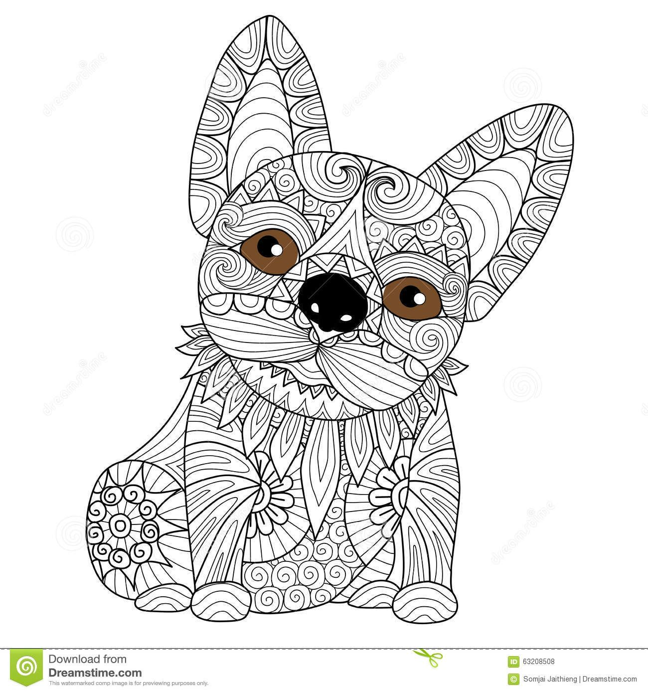 Image Result For Dog Colouring Pages For Adults Dog Coloring Book Puppy Coloring Pages Dog Coloring Page [ 1390 x 1300 Pixel ]