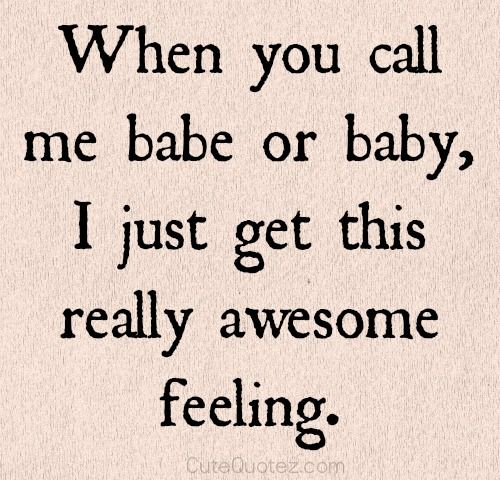 I love it when you call me that... #love #happiness
