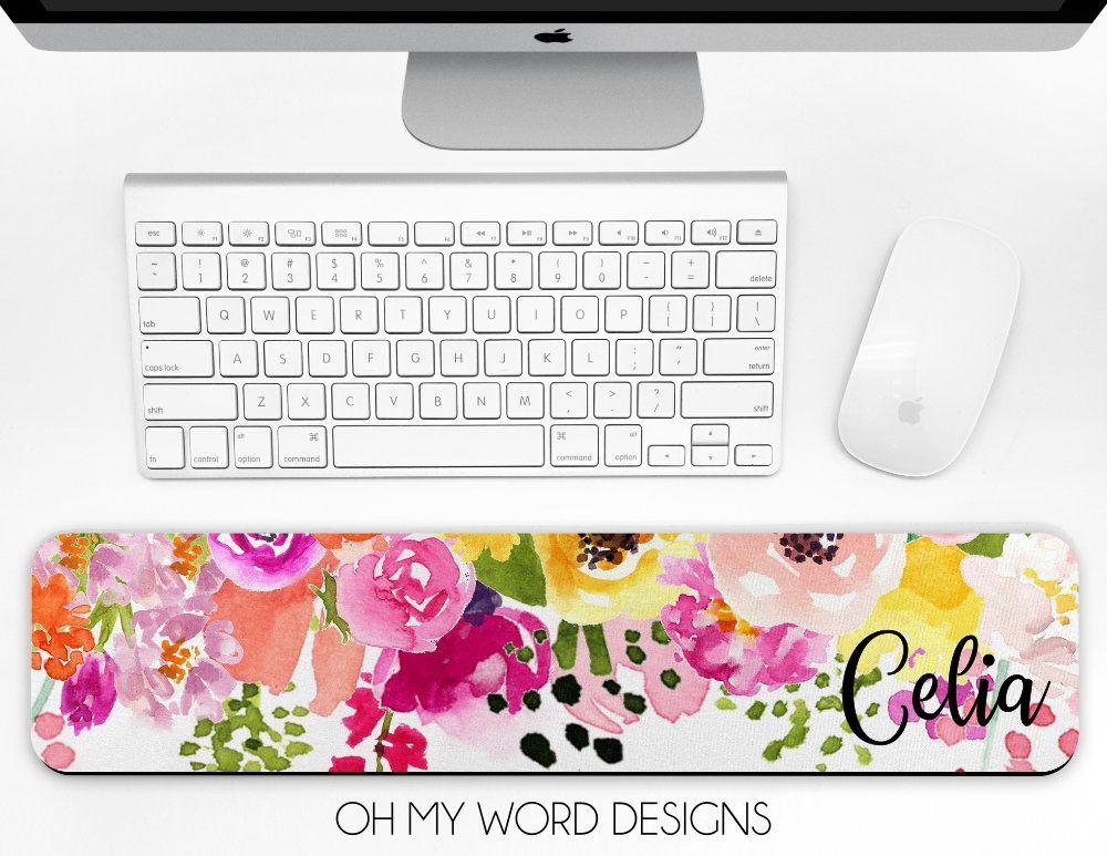 Personalized Keyboard Wrist Rest Office Mouse Pad Office Desk