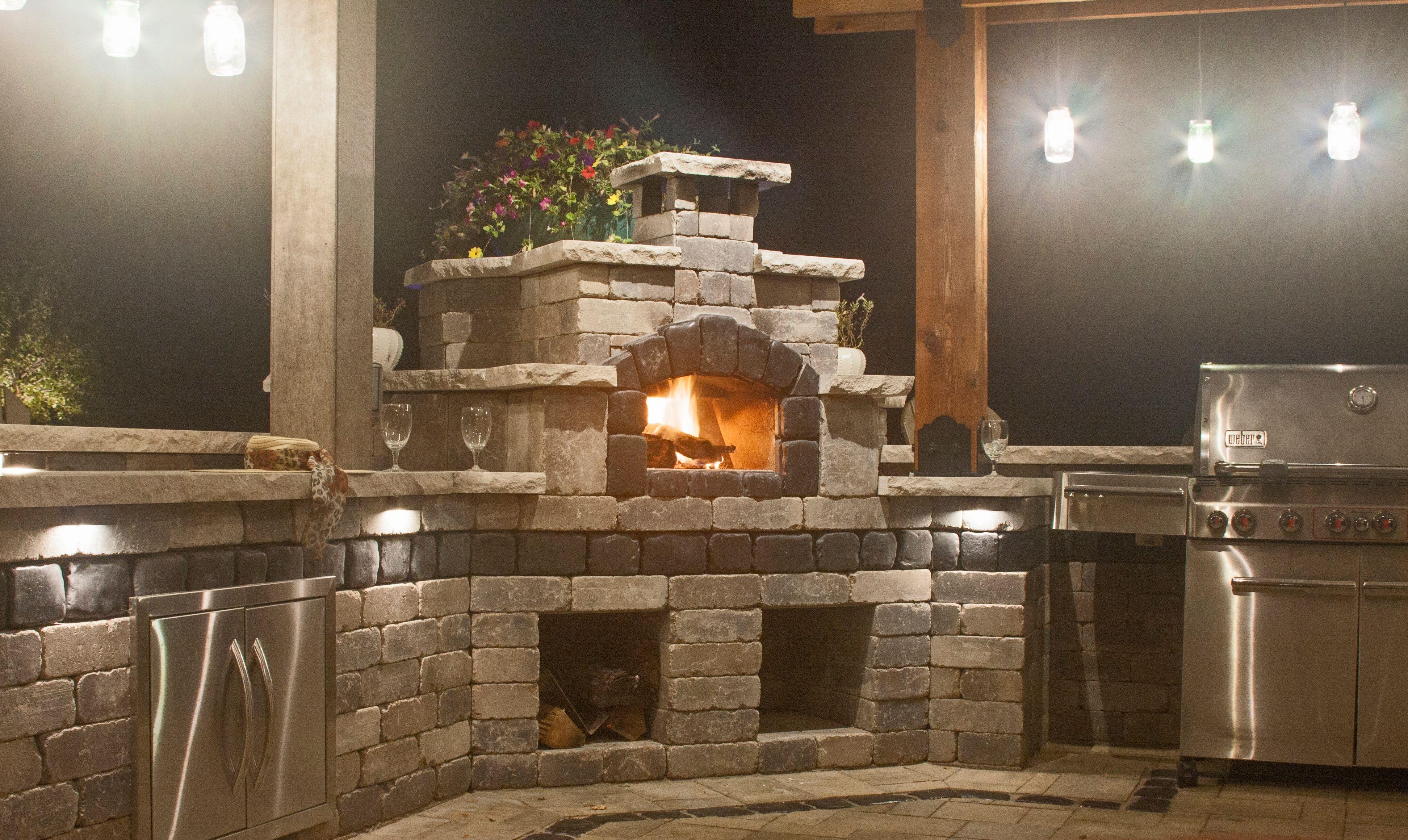 Pizza Oven Fireplace kits, Masonry fireplace, Fireplace