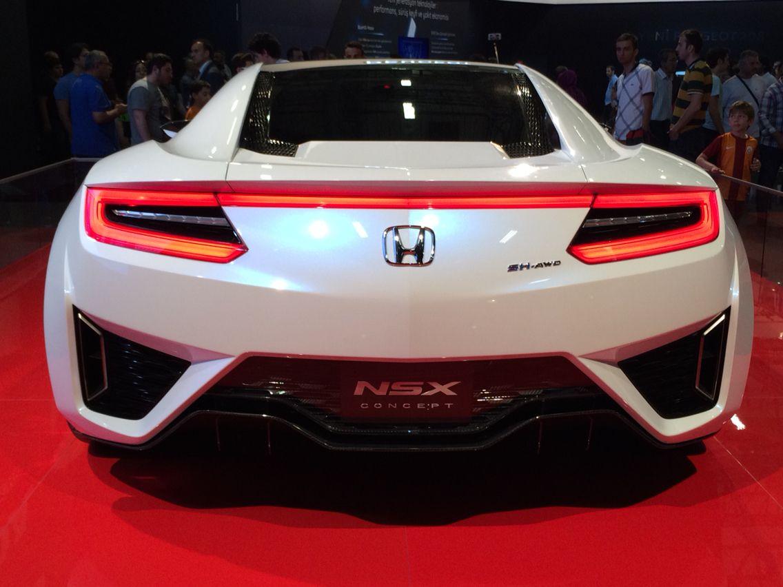 Car Show 2015 >> Honda Nsx Concept Istanbul Auto Show 2015 Honda Automobiles