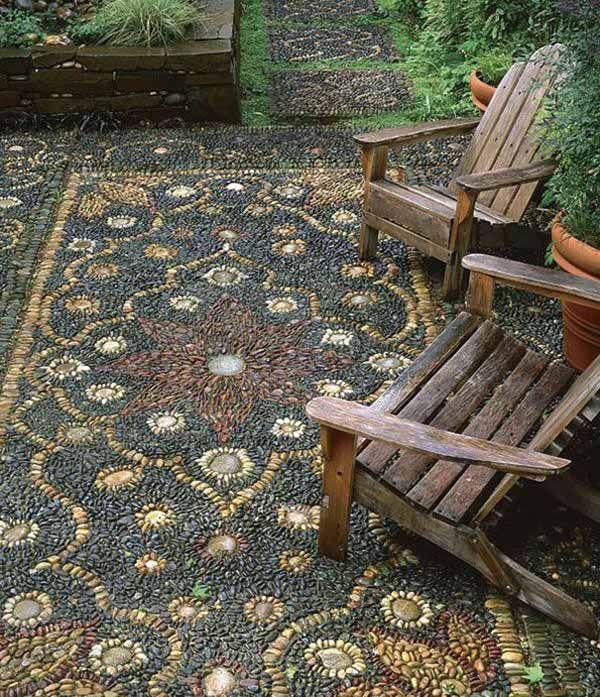 Camino de piedras sendero jard n garden paths - Camino de piedras para jardin ...