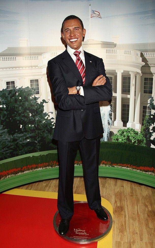 wax barack obama at madame tussauds in hollywood madame tussauds rh pinterest com