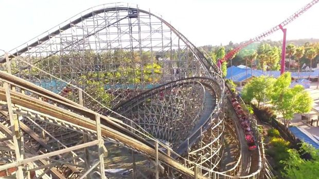 Roar At Six Flags Discovery Kingdom To Close Six Flags American Canyon Kingdom