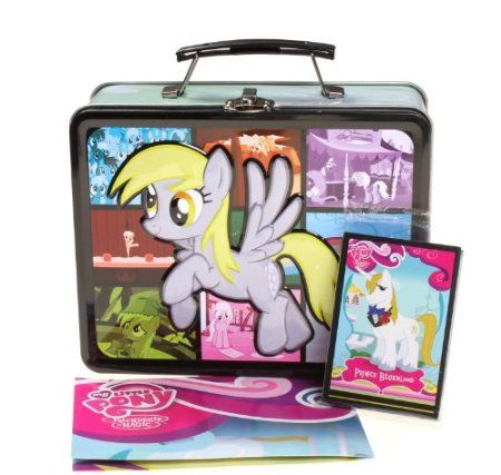 Amazon.com: My Little Pony Derpy Lunchbox with Collectible Cards: Kitchen & Dining