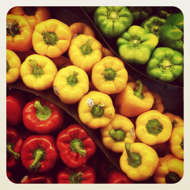 Peppers at Uptown Lunds in Minneapolis. April 9, 2012