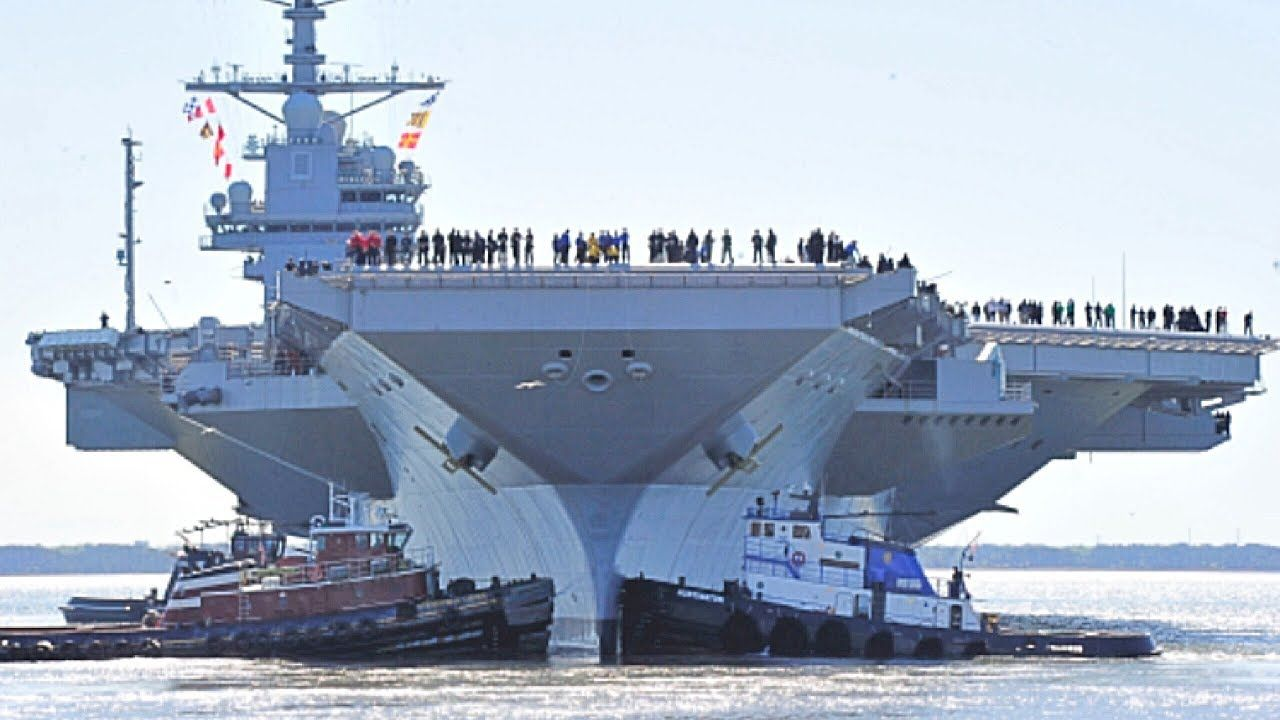 The Carrier Is Biggest And Most Powerful Ever Built By Uk Hms Queen Elizabeth Gareth Fuller Pa