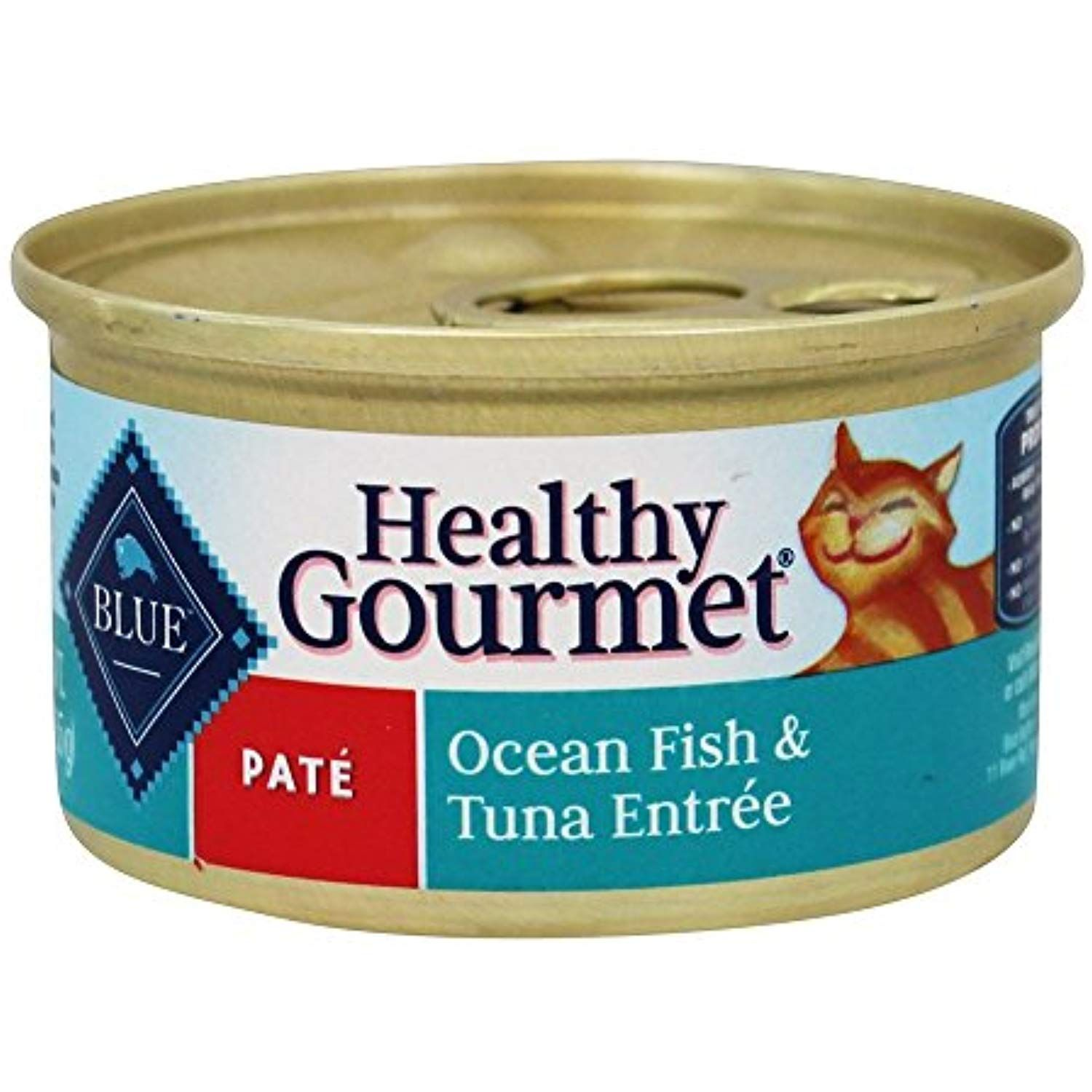 Blue Buffalo Healthy Gourmet Canned Cat Food Pate Oceanfish And