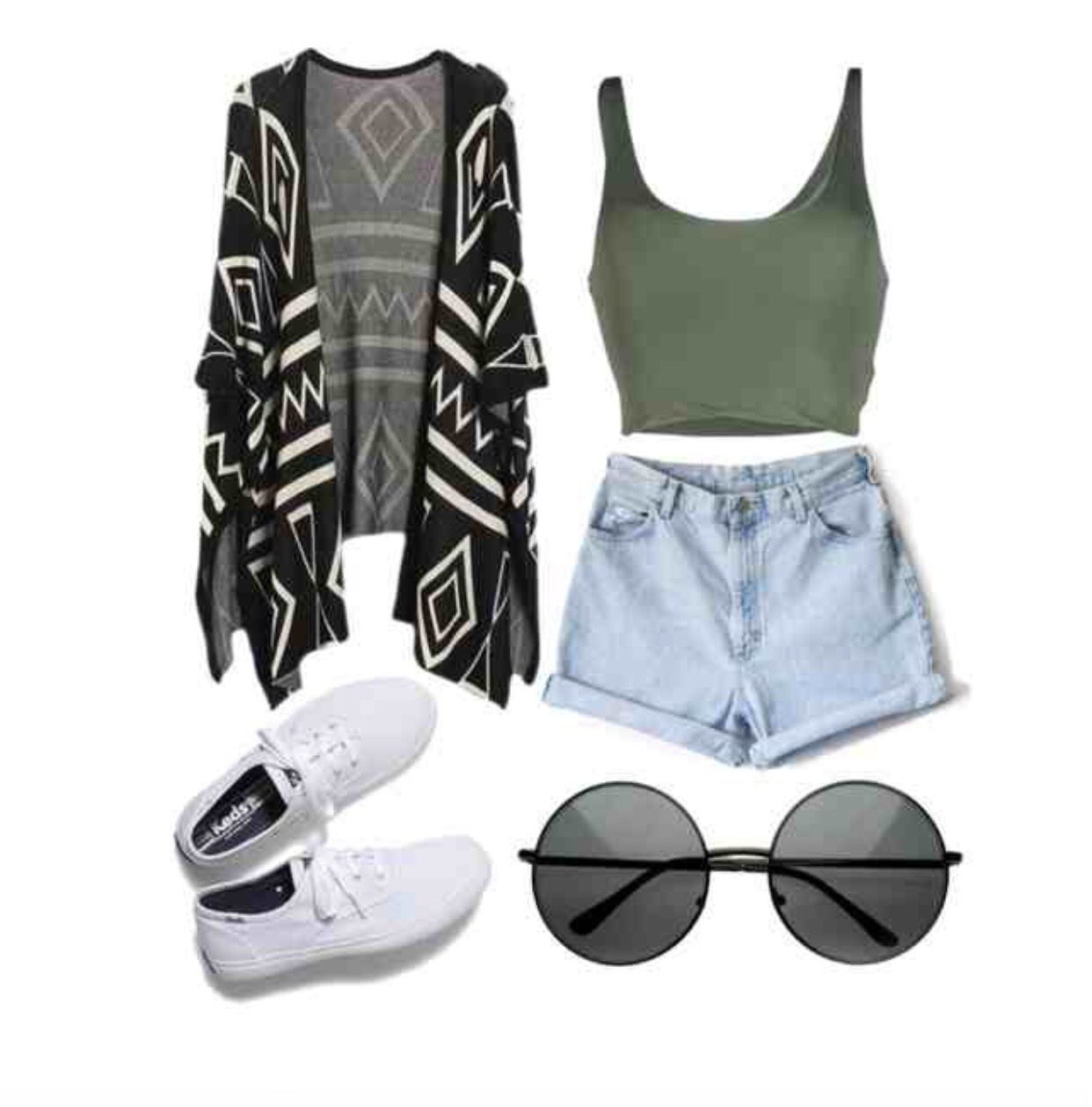 simple but effective cardigans high shorts tumblr hipster