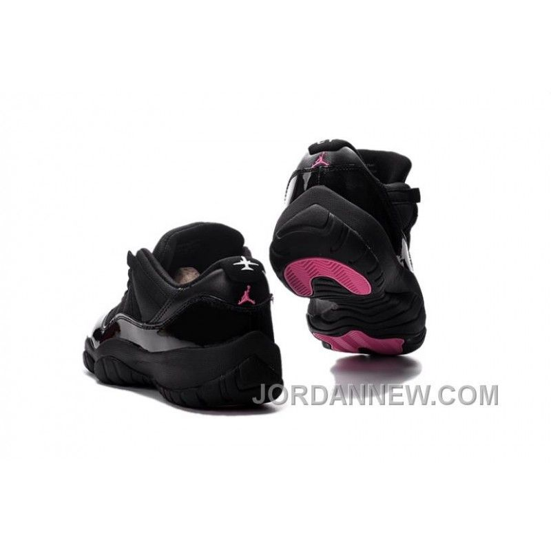Air Jordan 11 Low Black Pink Lovers Shoe Cheap To Buy