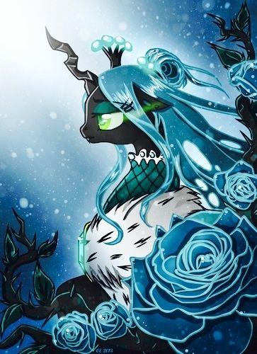 Queen Chrysalis is Queen.