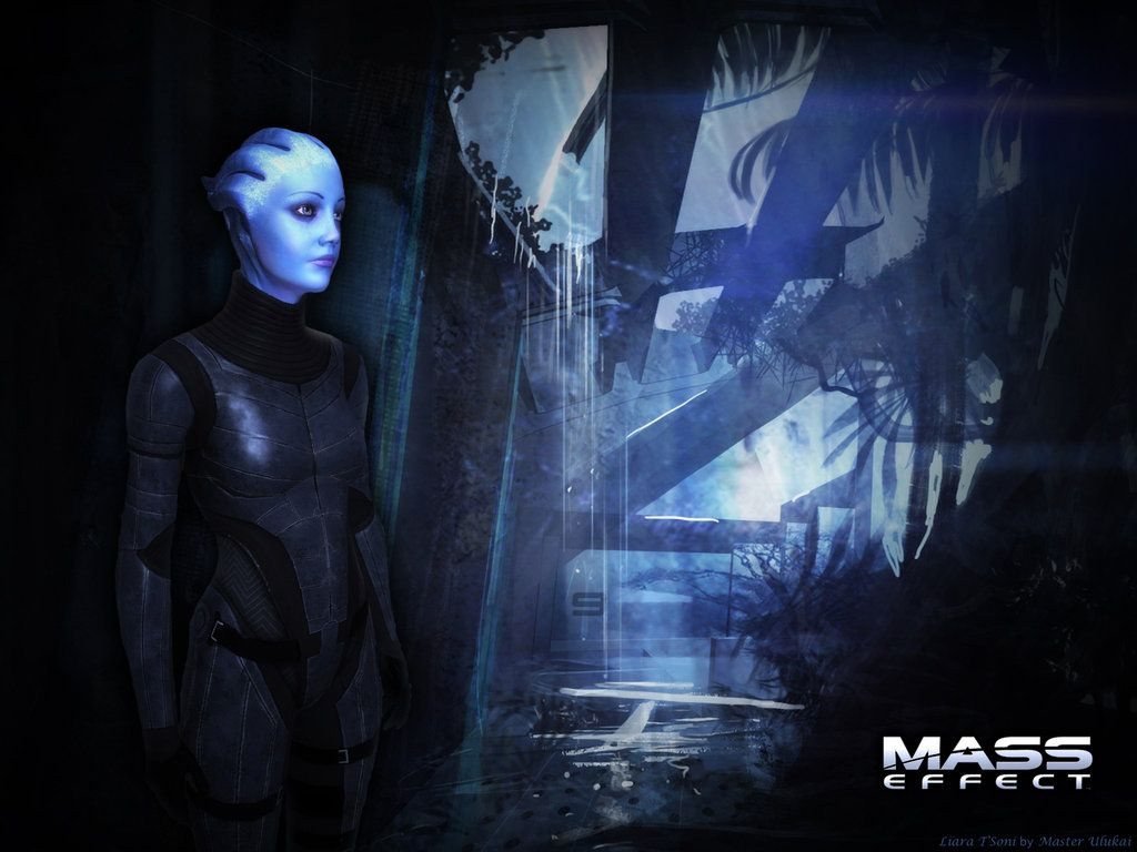 Liara T Soni Wallpaper Mass Effect Wallpaper Hd Wallpaper