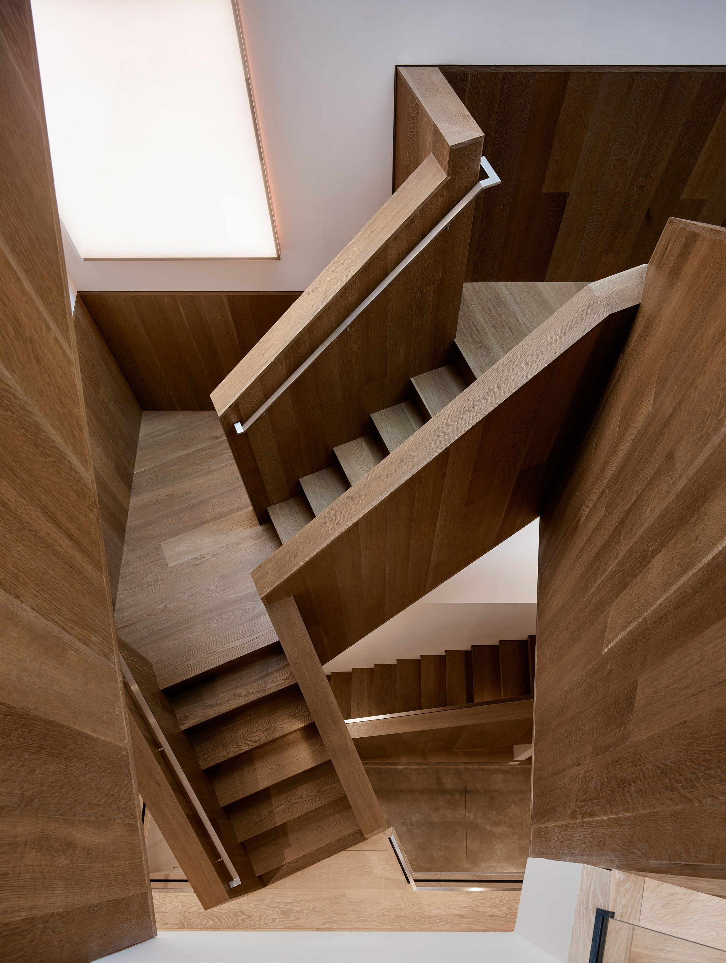 Home interior stairs jensen architects adds contemporary rear facade to san francisco