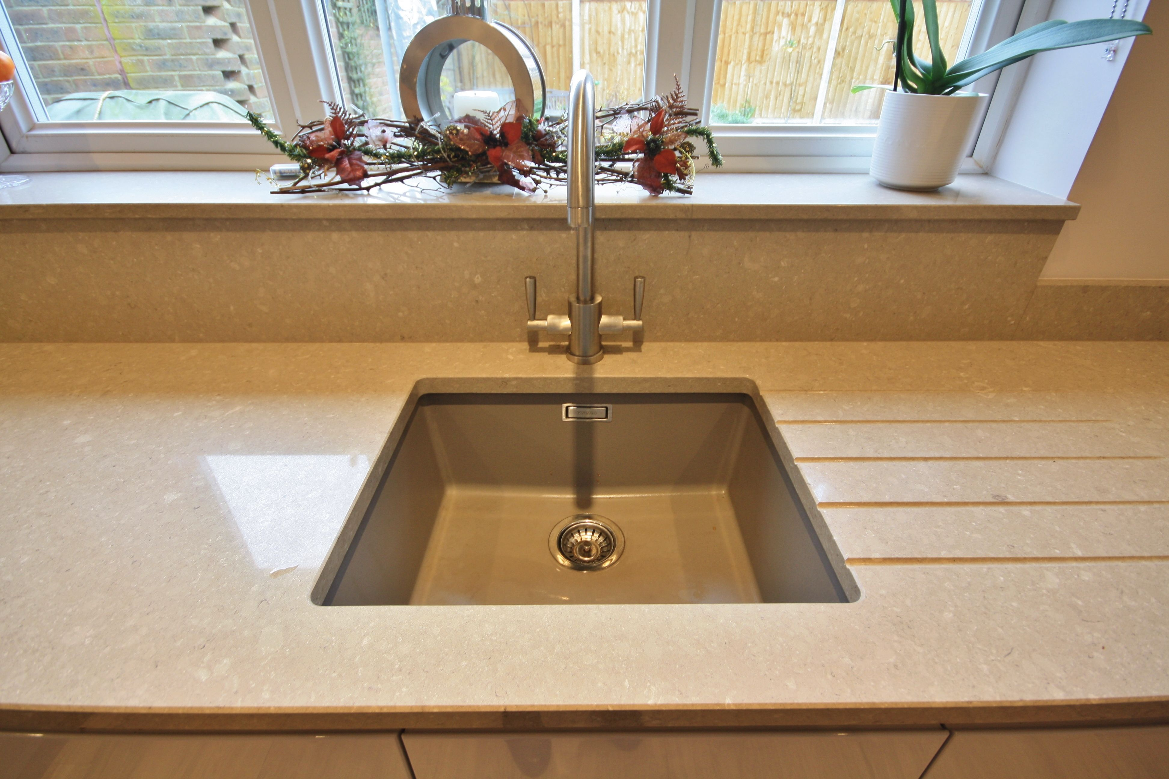 under mounted resin sink strong hard wearing and durable material rh pinterest es