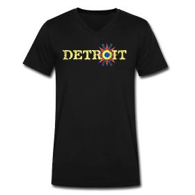 Detroit Chaldean Flag Detroit Mens Tops Flag Tshirt