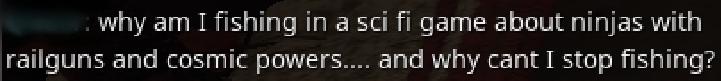 I was wondering the exact same thing... [Warframe]