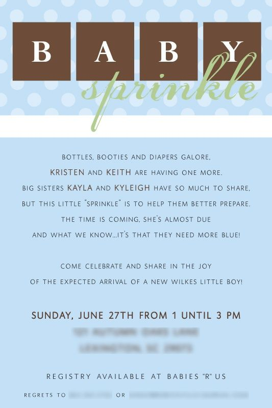 Perfect Teske Goldsworthy Garner, I Hate Baby Showers AndBaby Shower Invitation For  A Second/third/+ Baby,great Idea! Pinned For BabyBump, The Mobile Pregnancy  ...