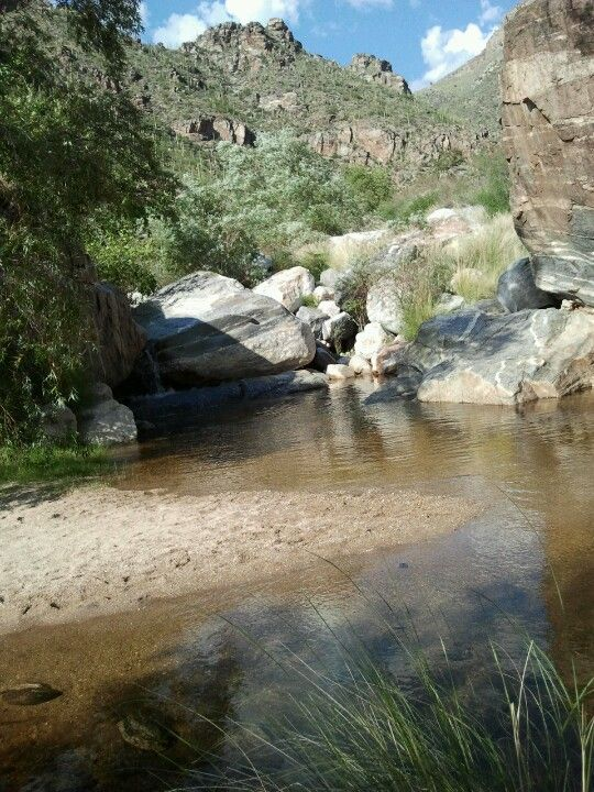 You Can Find Natural Falls And Swimming Holes Hiking Up Sabino Canyon In Tucson Az Tucson Arizona Desert Places Tucson