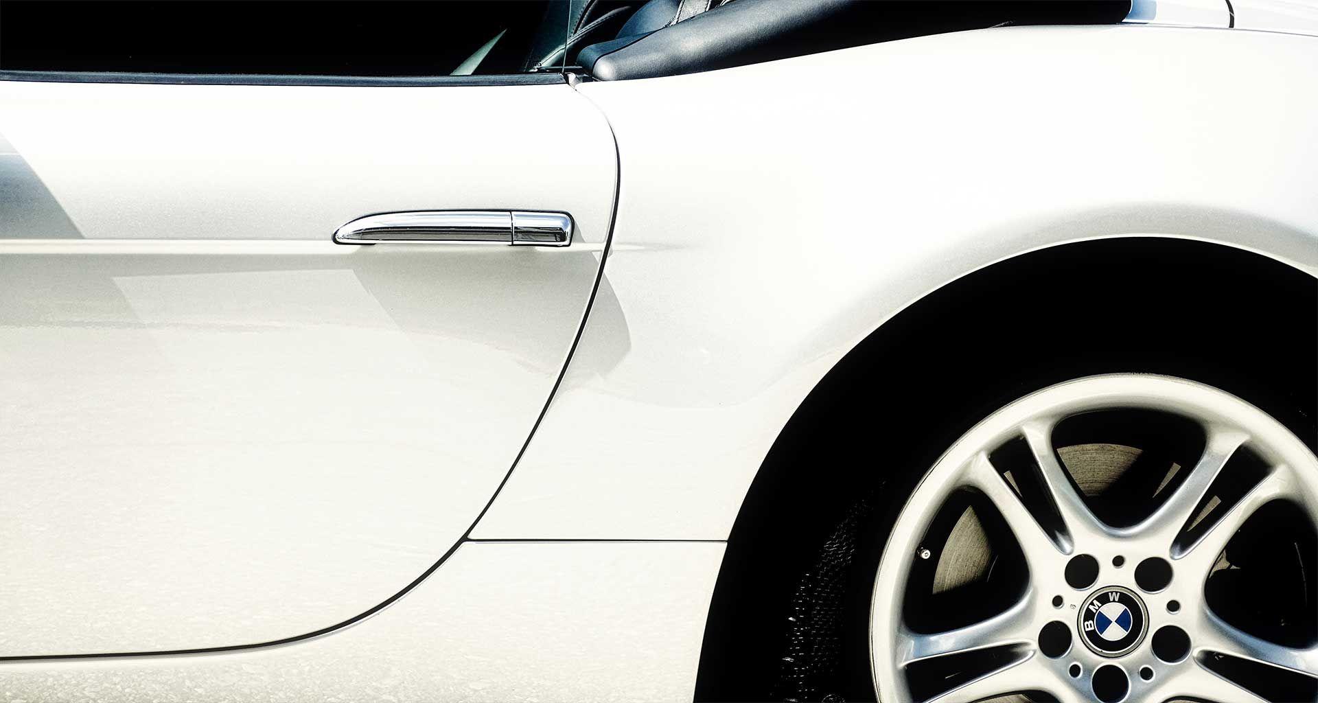 Empire's collision repair process involves an auto body