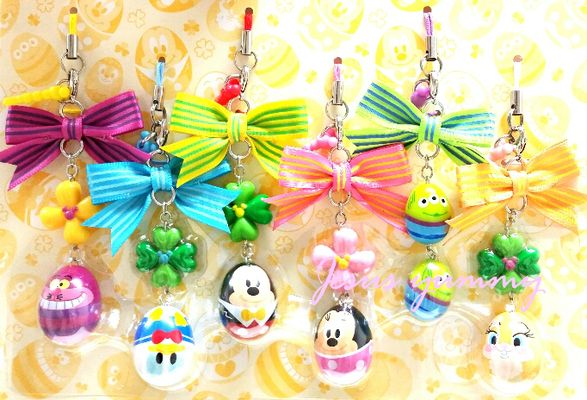 With Mickey strap ball chain Disney Easter limited April 1 sale Tokyo Disney Resort limited ☆ [DISNEY]