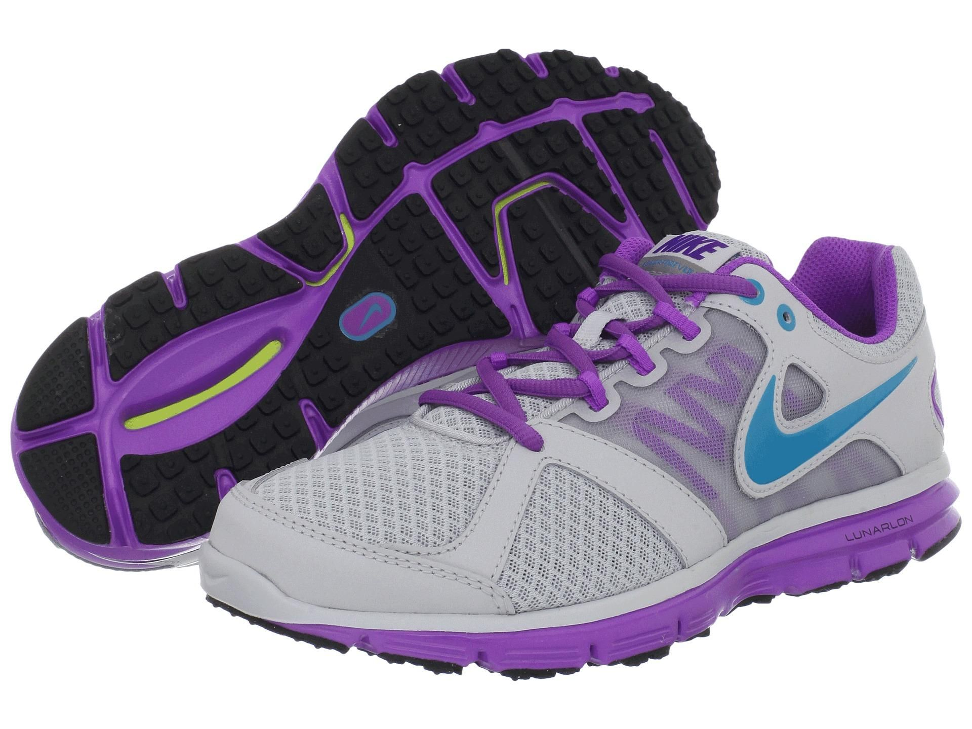 4ffc623d3cb 6pm purple and grey nike workout sneakers