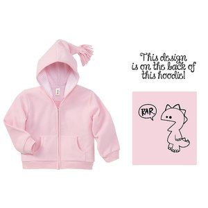 Rar Infant Hoodie Pink now featured on Fab.