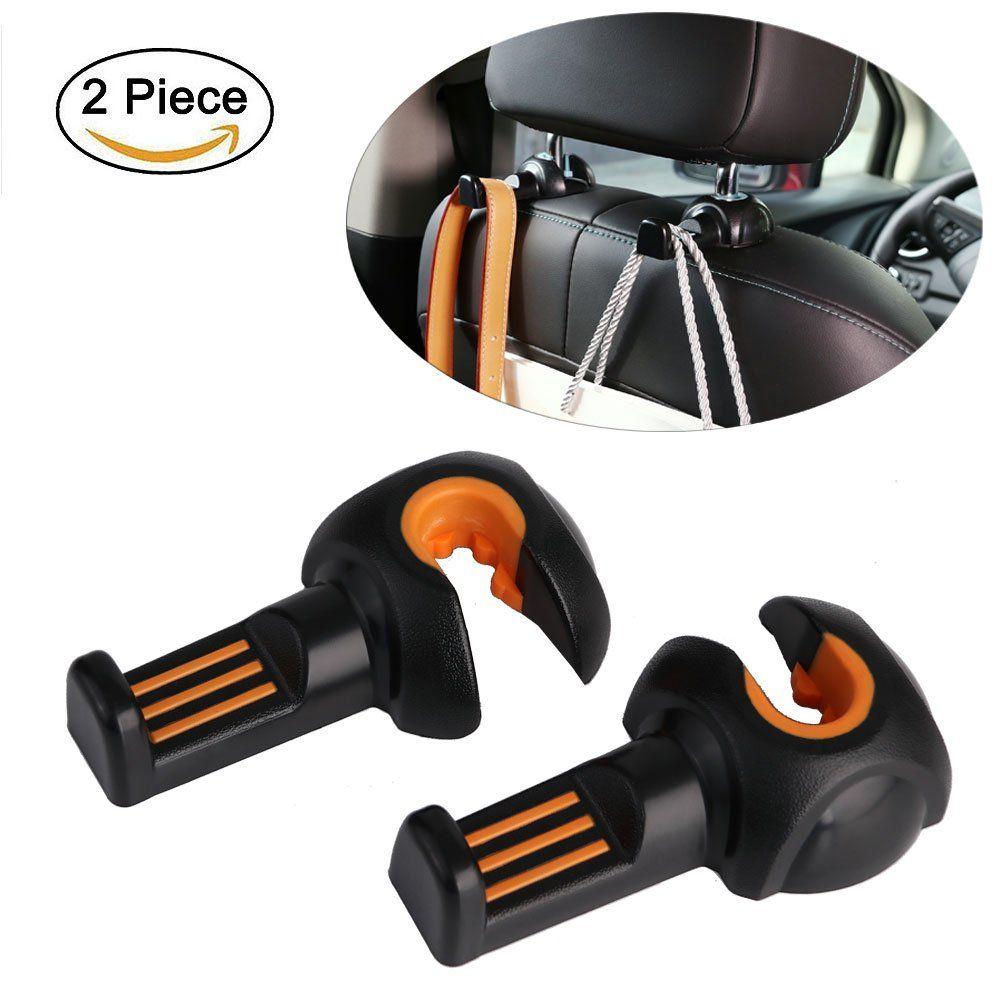 Car Seat Hook Headrest Hooks Back Hanger Holder For Umbrella Handbags Purse Grocery Bag Plastic Bags And MoreVehicle Interior