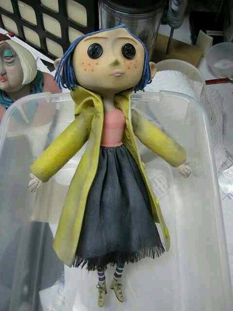 Coraline Doll Coraline Doll Coraline Coraline Costume