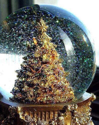 christmas tree snowglobe kendrasmiles4u