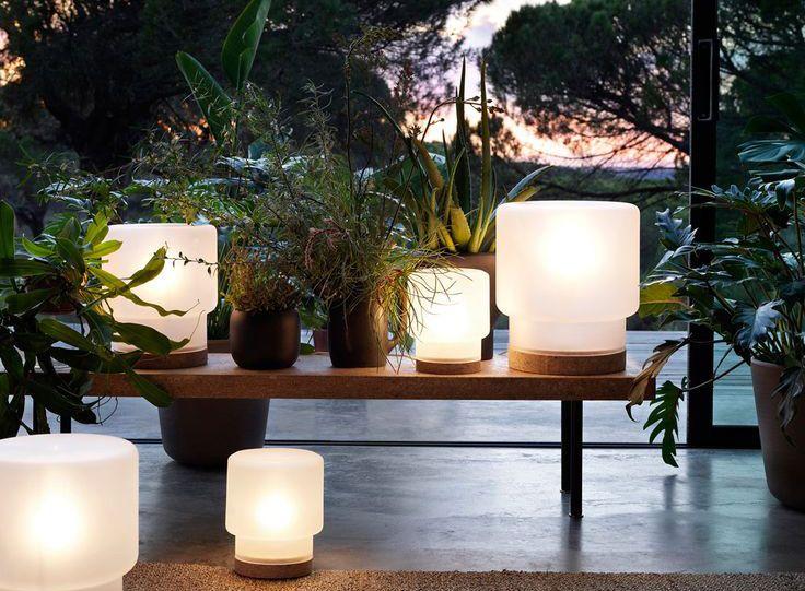 #lampe #table #liège