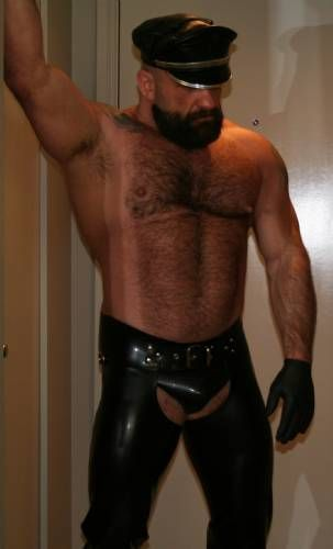 hairy bear leder