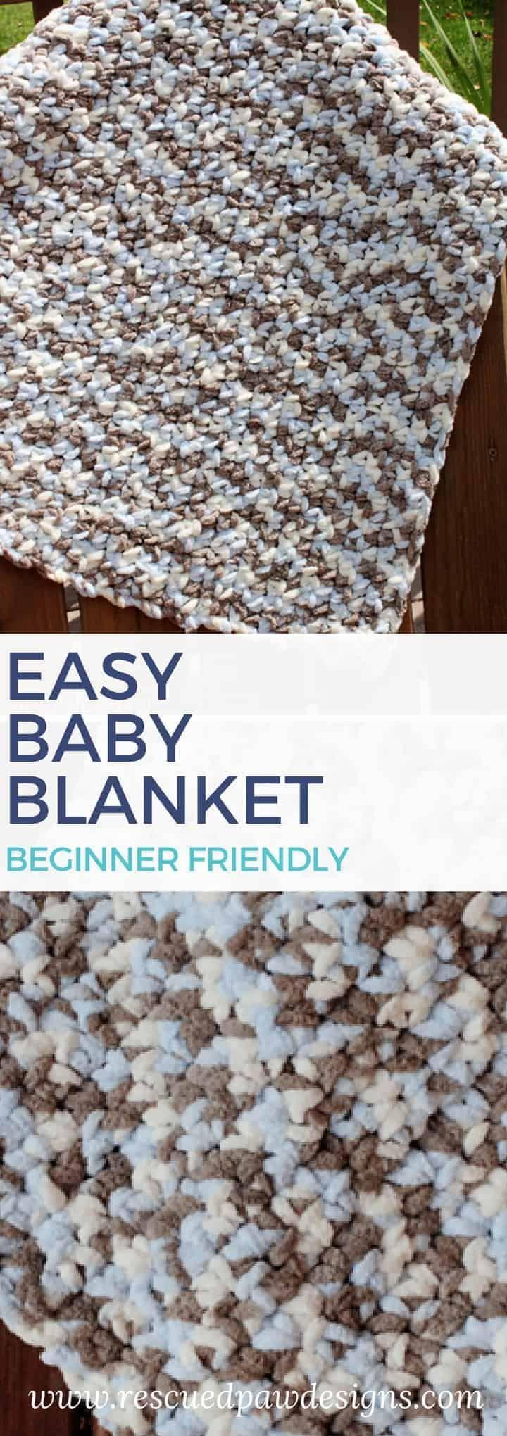 Free Crochet Baby Blanket Pattern - Crochet Bernat Blanket Yarn Pattern