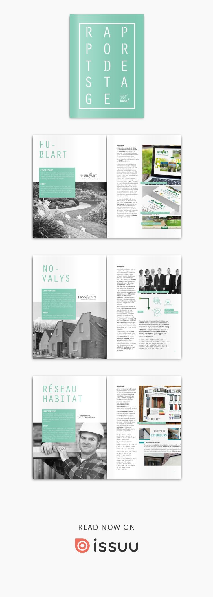 Rapport De Stage Book Design Layout Book And Magazine Design Magazine Layout Design