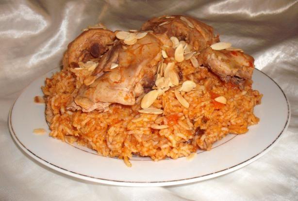 Al Kabsa Traditional Saudi Rice Chicken Dish Recipe Food Com Recipe Chicken Dishes Recipes Kabsa Recipe Food Dishes