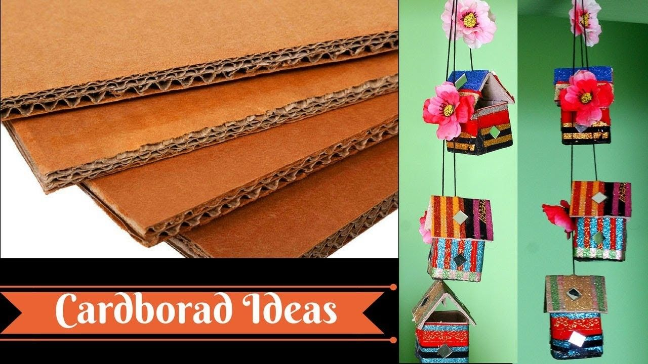 How to make wall hangings with waste
