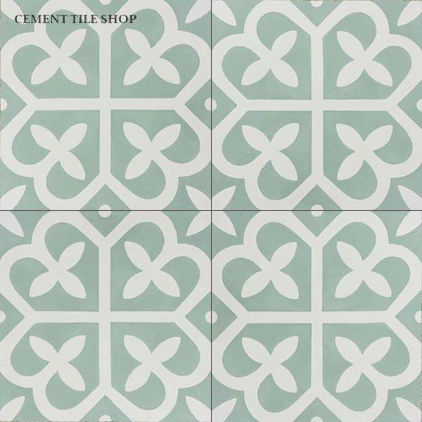 Comes in a lot of different colors cement tile shop for Cera de hormigon para azulejos de bano