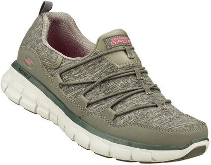 SYNERGY ASSET PLA GREY Quarks Shoes | Skechers shoes women