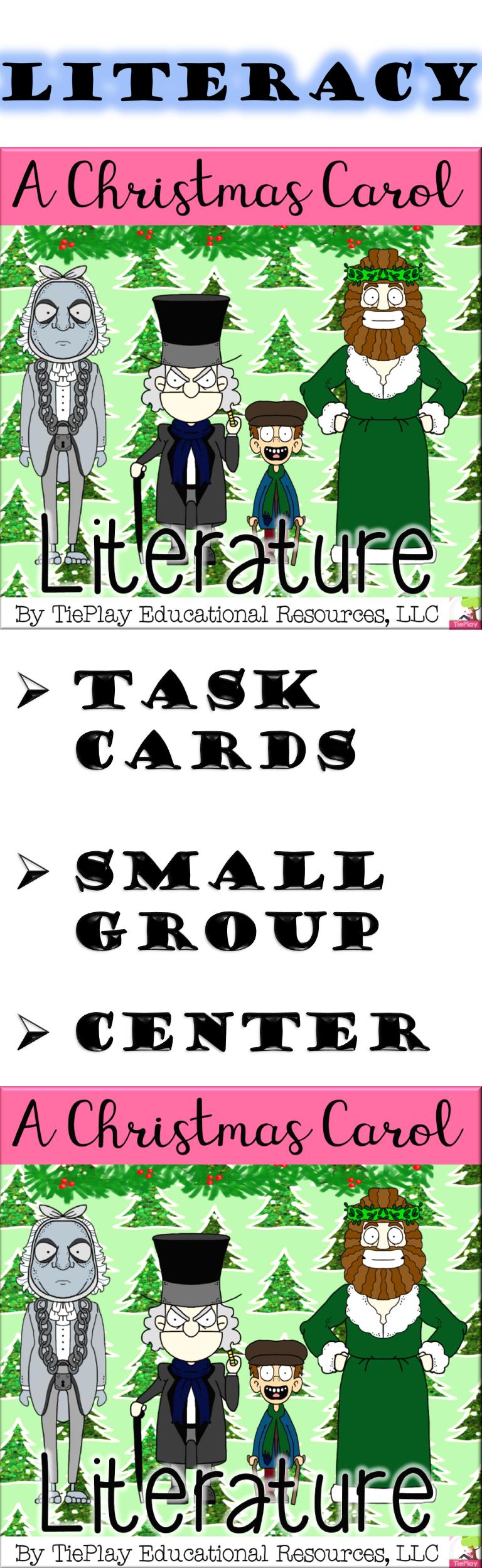 A Christmas Carol Literacy Literature Reading Comprehension Questions No Prep   Reading ...