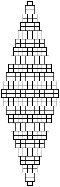 2 bead brick stitch diamond graph paper  shala kerrigan