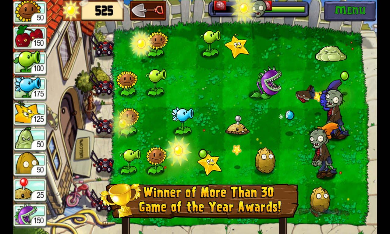 Plants vs. Zombies | Download Apps For Free | Popcap games, Zombie ...