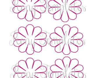 giant paper flowers giant paper flower templates by